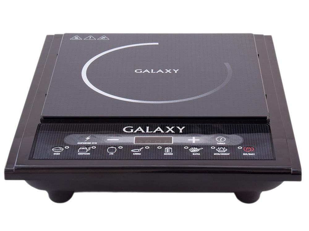 Индукционная электроплитка GALAXY GL 3053 2000 Вт электроплитка одноконфорочная atlanta