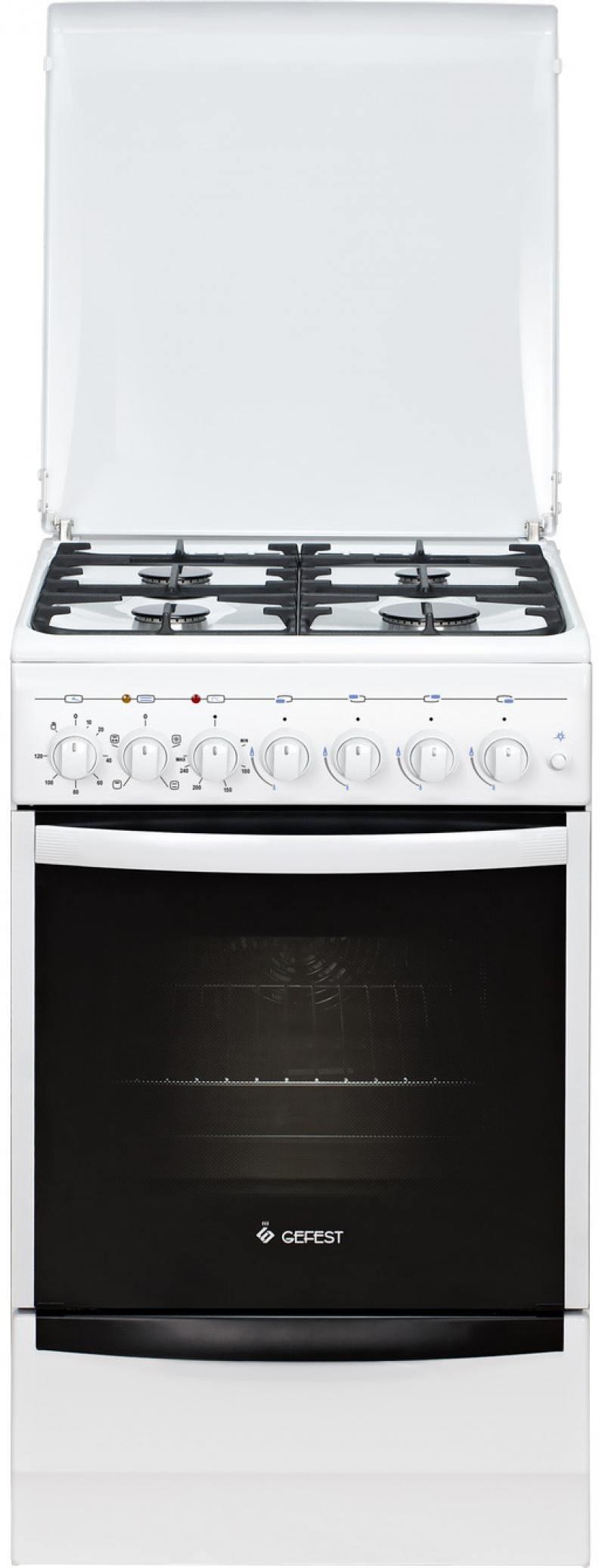 Комбинированная плита Gefest 5102-02 цена в Москве и Питере