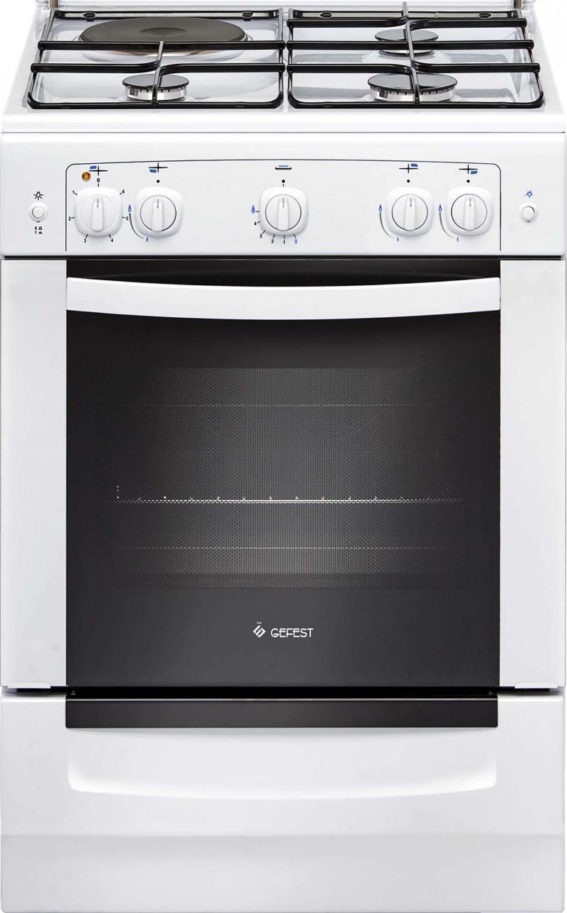 Комбинированная плита Gefest 6110-01 цена и фото