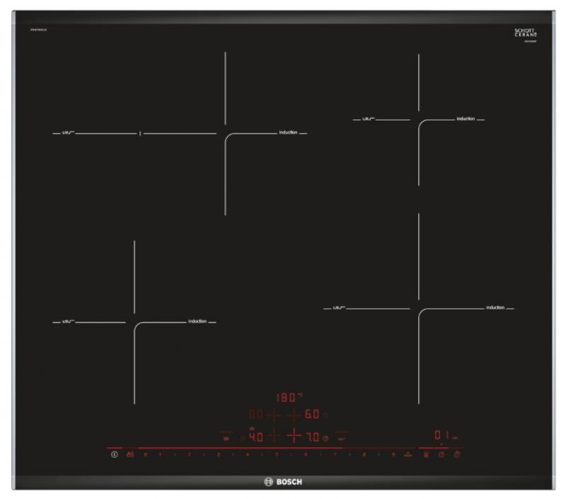 Варочная панель индукционная Bosch PIF675DE1E цена и фото