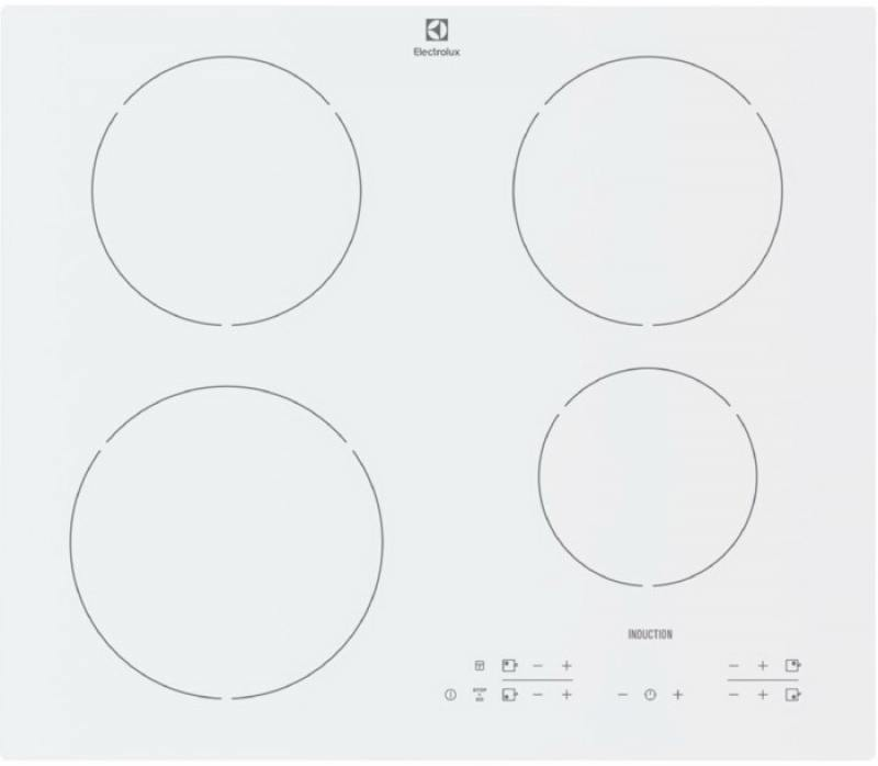 Варочная панель индукционная Electrolux EHH96340IW варочная панель electrolux gpe263fw
