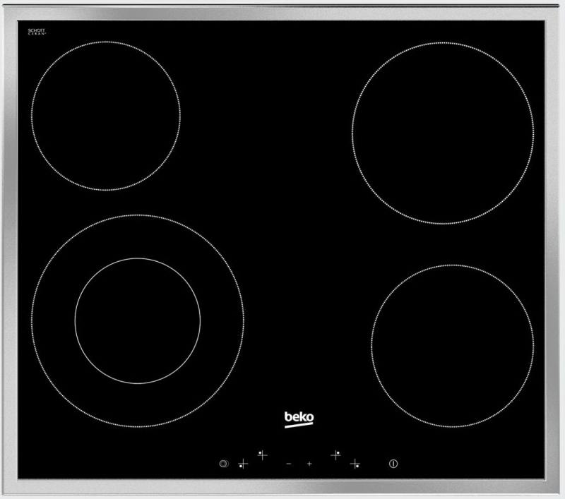 Варочная панель электрическая Beko HIC 64402 X варочная панель электрическая smeg se364td черный