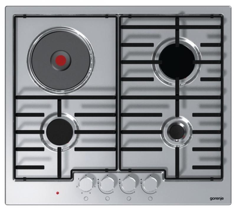 лучшая цена Варочная панель комбинированная Gorenje K6N30IX