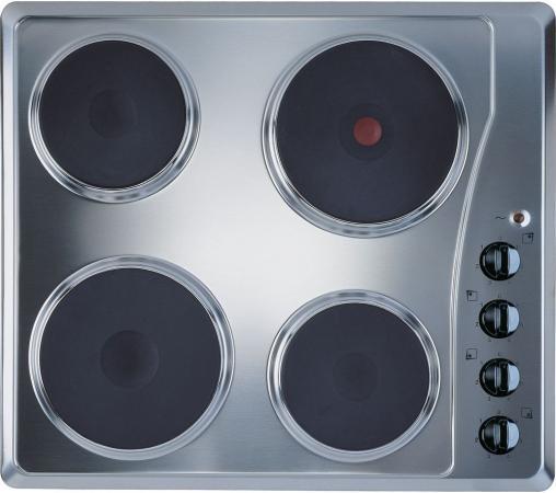 Варочная панель электрическая Indesit TI 60 X варочная панель электрическая smeg se364td черный