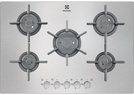 Варочная панель газовая Electrolux EGU97657NX газовая варочная панель neff t27cs59s0
