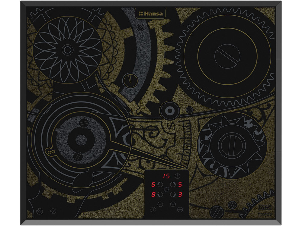 Варочная панель электрическая Hansa BHC66505 варочная панель hansa электрическая встраиваемая bhei60130010