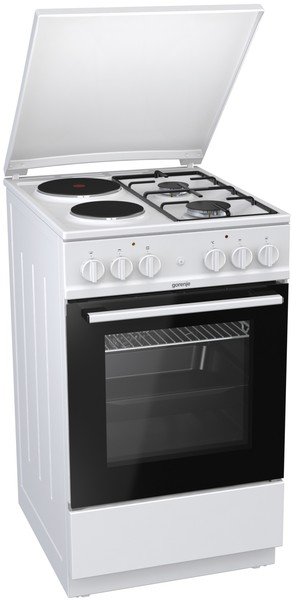 лучшая цена Комбинированная плита GORENJE K5111WG
