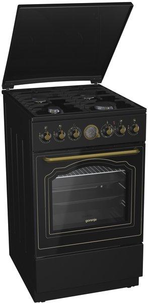 лучшая цена Комбинированная плита GORENJE K52CLB
