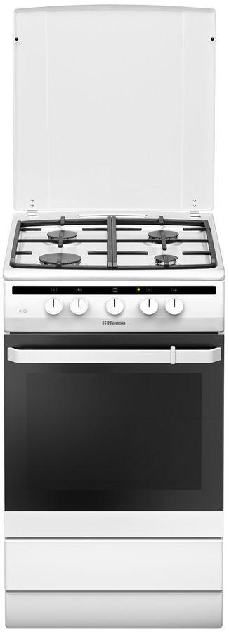 лучшая цена Комбинированная плита HANSA FCMW54121