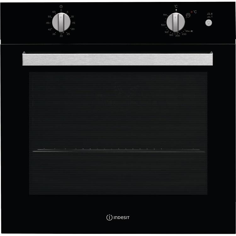 Встраиваемая газовая духовка INDESIT IGW 620 BL цена и фото