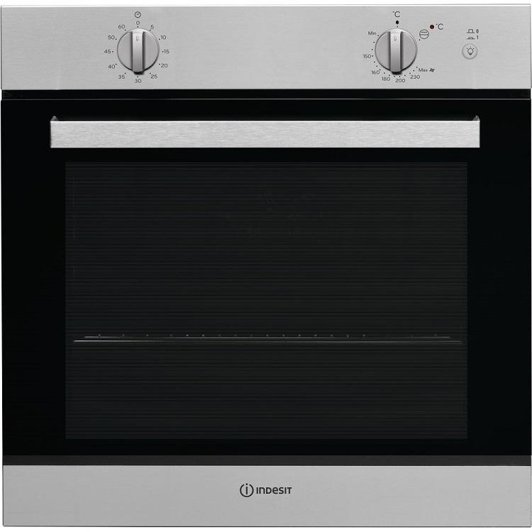 Встраиваемая газовая духовка INDESIT IGW 620 IX духовой шкаф indesit igw 620 ix серебристый