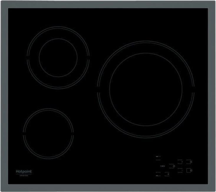 Варочная панель электрическая HOTPOINT-ARISTON HR 603 X варочная панель hotpoint ariston hr 603 x
