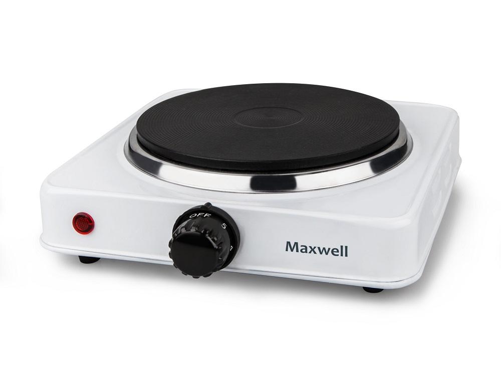 Плитка электрическая Maxwell MW-1903(W) фен maxwell mw 2006