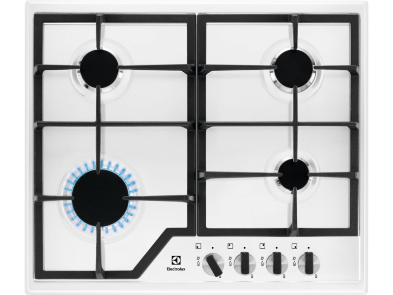 Варочная панель газовая ELECTROLUX GPE263MW газовая плита electrolux ekg951106w