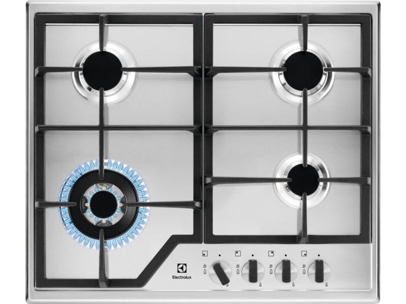 Варочная панель газовая ELECTROLUX GPE363MX газовая плита electrolux ekg951106w