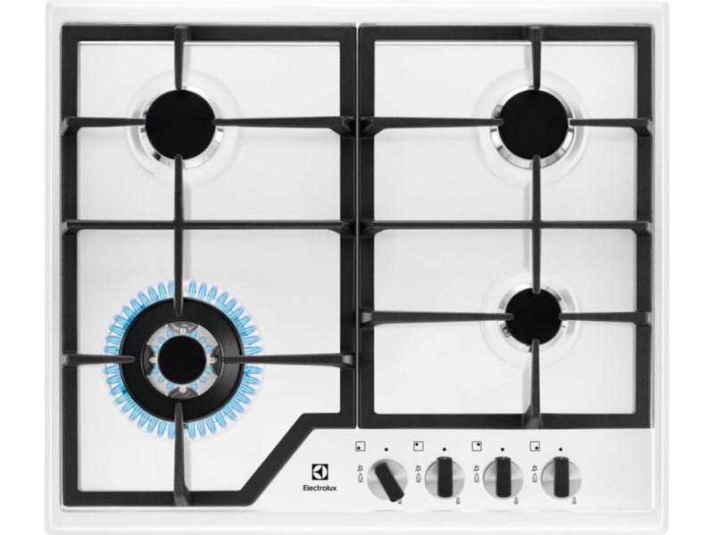 Варочная панель газовая ELECTROLUX GPE363MW газовая плита electrolux ekg951106w