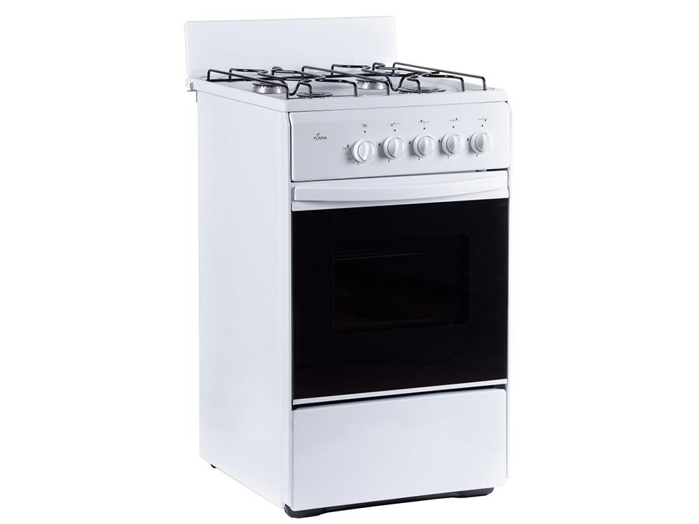 Газовая плита Flama RG 24011 W газовая плита flama rg 24022 w газовая духовка белый