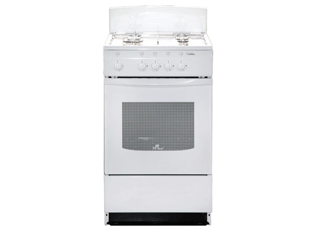 Газовая плита De Luxe 5040.45г (щ)-001 белый недорого