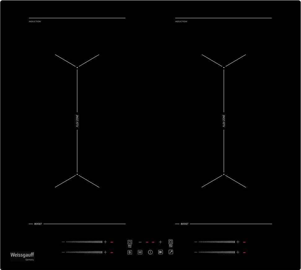 лучшая цена Варочная панель Weissgauff HI 642 BY