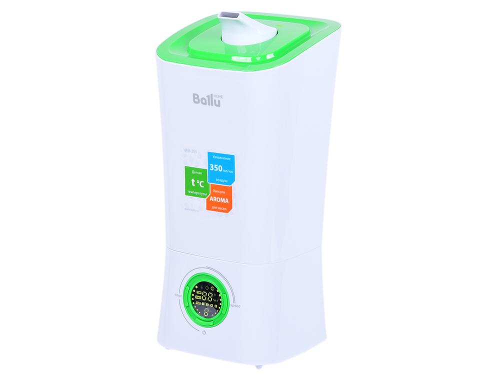 все цены на Увлажнитель воздуха BALLU UHB-205 белый зелёный онлайн