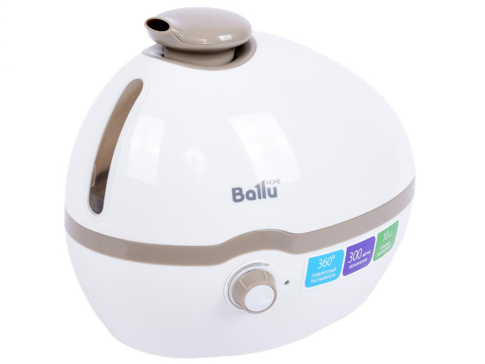 цена на Увлажнитель воздуха BALLU UHB-100 белый/бежевый 10 м2, 2 режима, расход воды 300 гр./час, объём 1 л