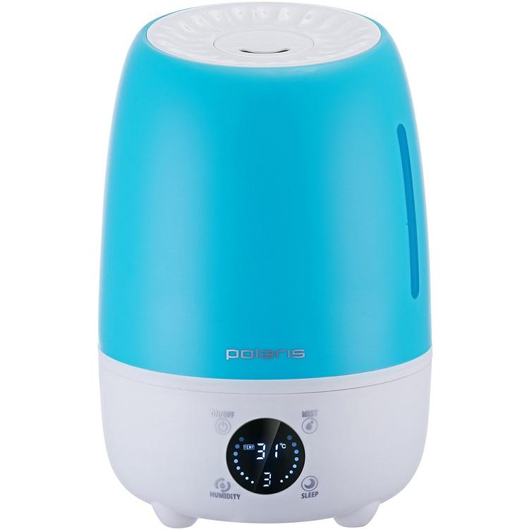 PUH 6805Di, Синий ультразвуковой увлажнитель воздуха polaris puh 6805di синий