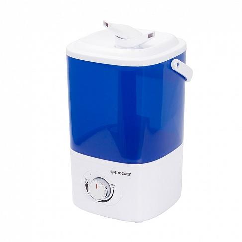 Ультразвуковой увлажнитель воздуха Endever Oasis-172 Мощность 20 Вт, производительность- 280 мл/час, объем резервуара 3 л ручка для переноски цена и фото