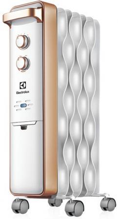 Масляный радиатор Electrolux Wave EOH/M-9157 1500 Вт серебристый цена и фото