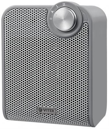 Тепловентилятор Vitek VT-1753 GY 1500 Вт серый цена 2017