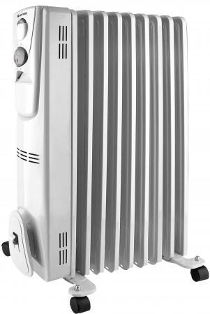 Масляный радиатор Vitek VT-2127(W) 2000 Вт белый цена