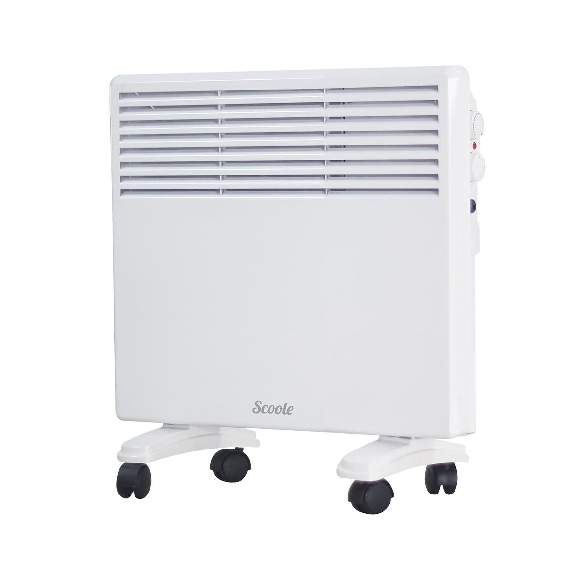 цена на Конвектор Scoole SC HT CM3 1000 WT белый 1000 Вт, 10 кв.м