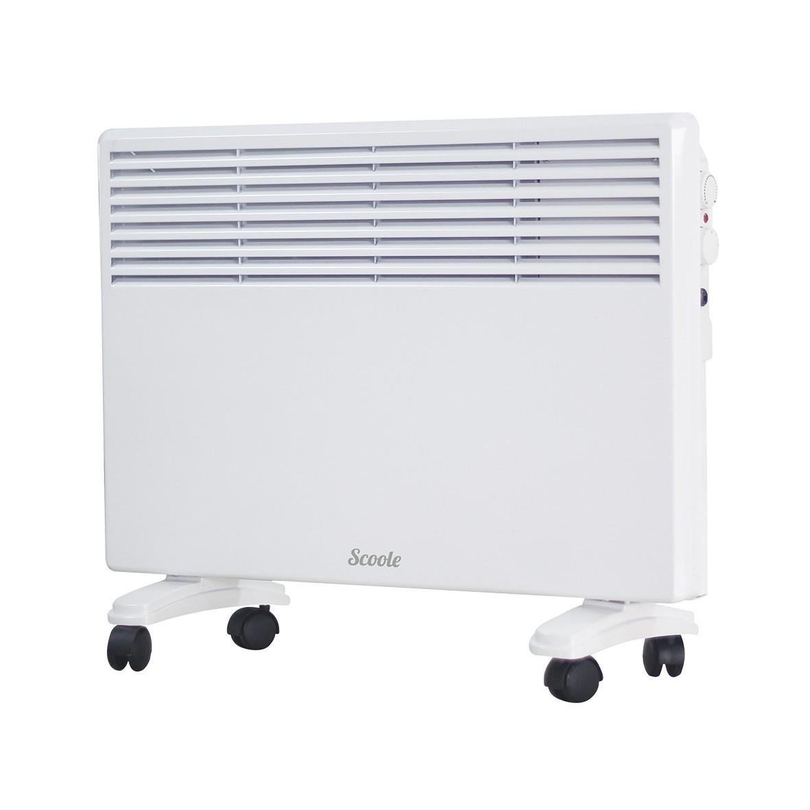 Конвектор Scoole SC HT CM3 2000 WT белый 2000 Вт, 20 кв.м