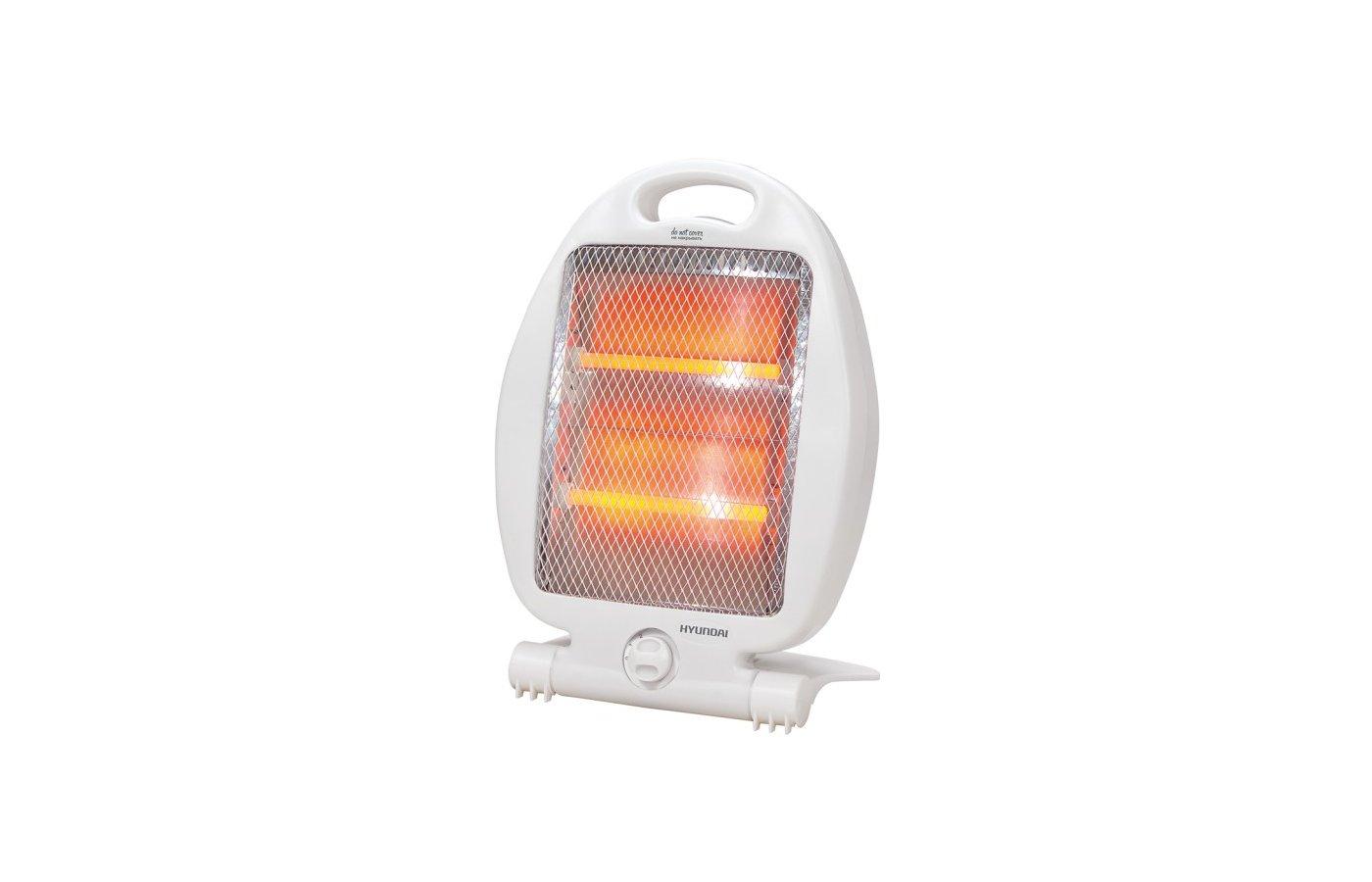 Инфракрасный кварцевый обогреватель Hyundai H-HC3-08-UI998, 800 Вт., S-10 м, белый