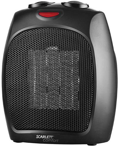 Тепловентилятор Scarlett SC-FH19K01 черный 1500 Вт