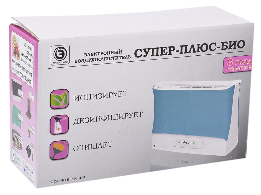 Очиститель-ионизатор воздуха Супер-плюс-Био серый jiapei ejt 1100sd очиститель воздуха фильтрующие элементы приспособлены ба muda airengine очиститель воздуха из ejt 1139sd 1100sd 1180sd 1138sd