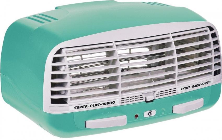Очиститель-ионизатор воздуха Супер-плюс-Турбо зеленый очиститель воздуха в автомобиль