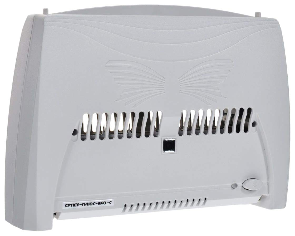 Очиститель-ионизатор воздуха Супер-плюс-Эко-С серый очиститель воздуха алло