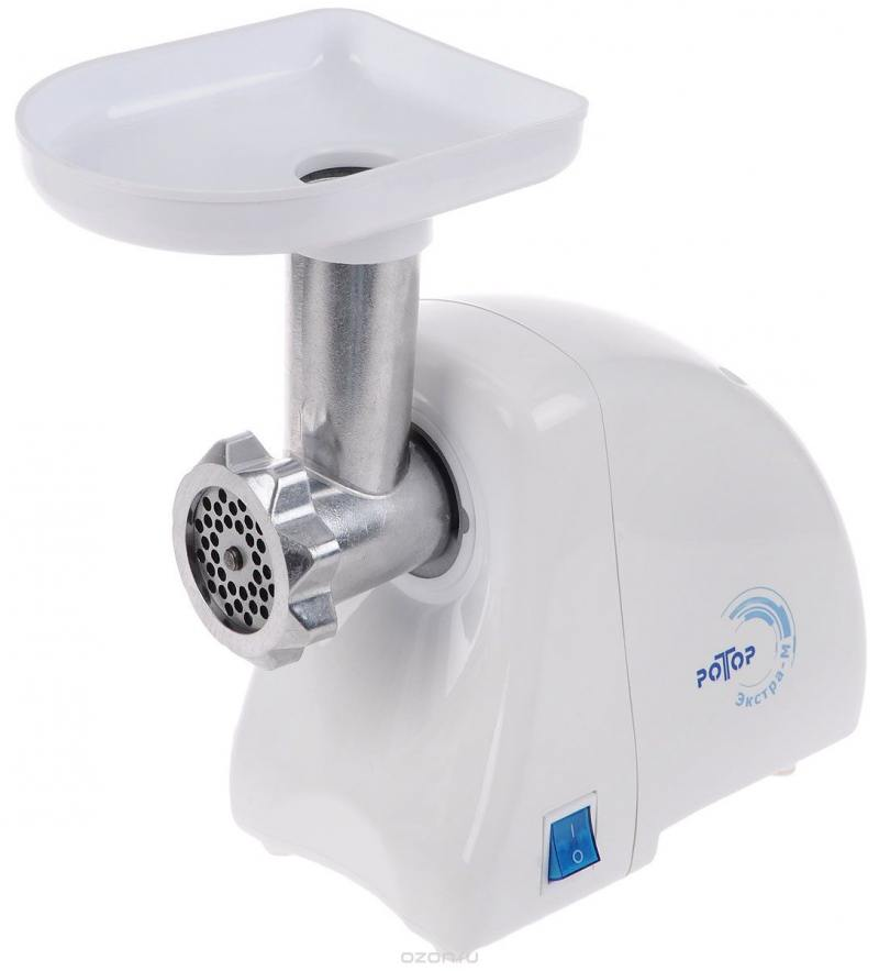 Мясорубка Ротор Экстра-М ЭМШ 35/250-1 250 Вт белый мясорубка ротор чудесница экстра р1 белый