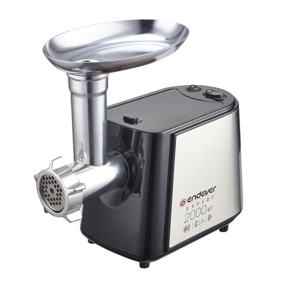 все цены на Мясорубка Endever Sigma-55 2000 Вт, 2,7 кг/мин онлайн