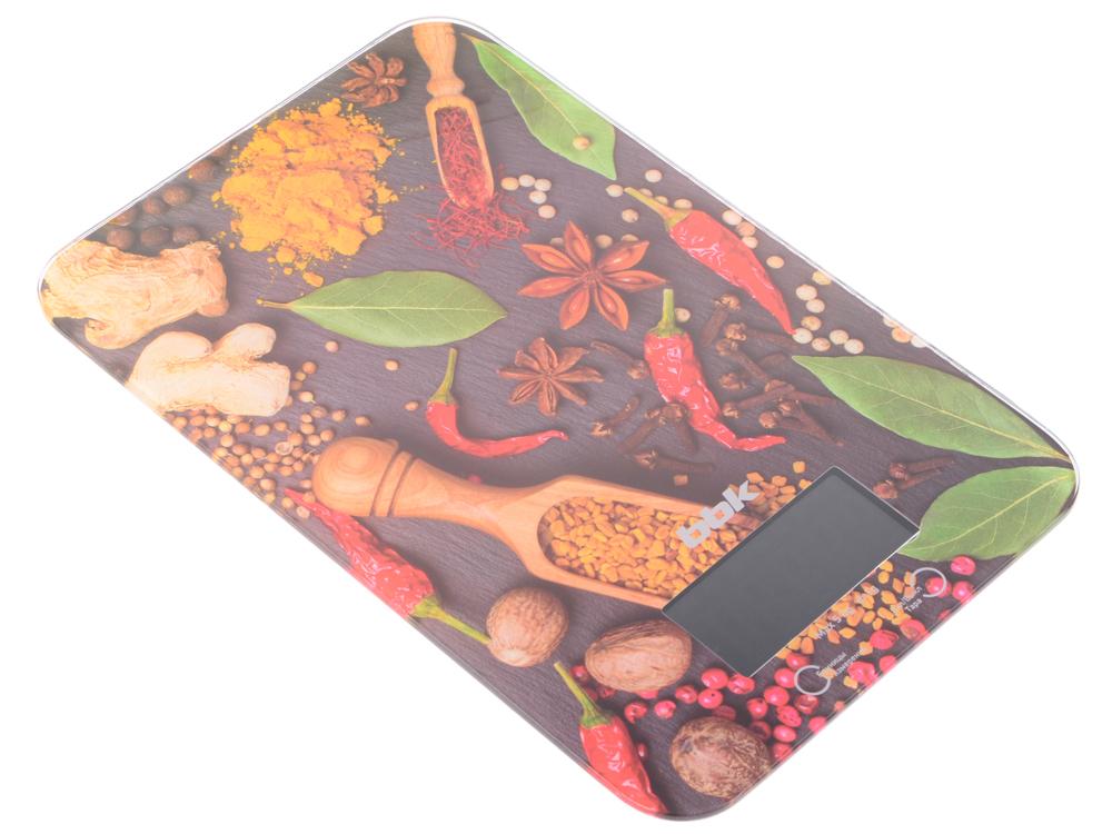 Картинка для Электронные кухонные весы BBK KS106G черный/красный