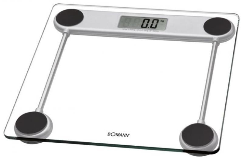 Весы напольные Bomann PW 1417 CB Glas прозрачный весы напольные aeg pw 4923 glas прозрачный