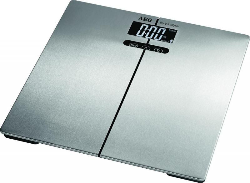 цена на Весы напольные AEG PW 5661 FA inox серебристый