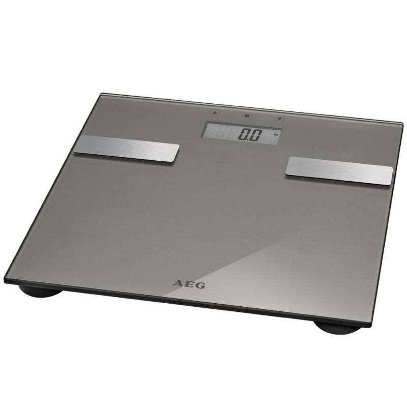 Весы напольные AEG PW 5644 FA серый PW 5644 FA весы напольные aeg pw 4923 glas прозрачный