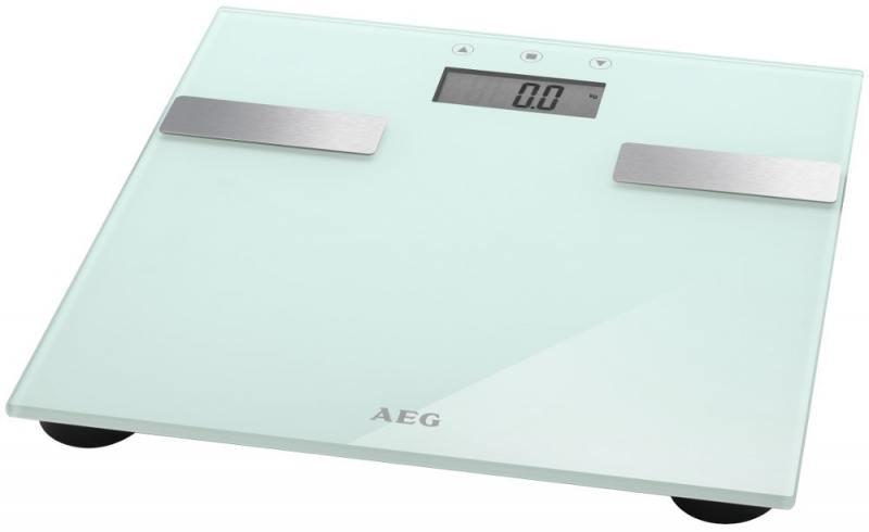 Весы напольные AEG PW 5644 FA белый весы напольные aeg pw 4923 glas прозрачный