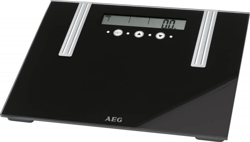 Весы напольные AEG PW 5571 FA Glas 6 in 1 чёрный весы напольные aeg pw 4923 glas прозрачный