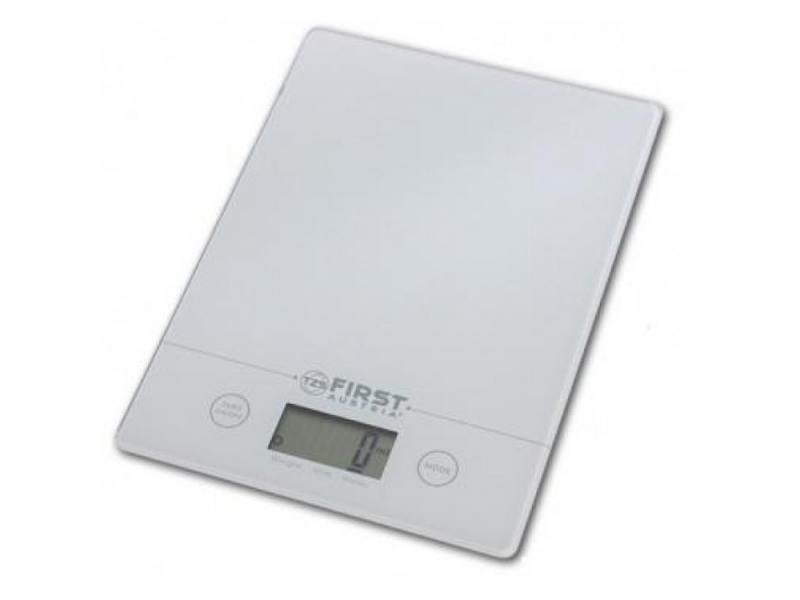 Весы кухонные First FA-6400-WI, электронные, белый весы кухонные first весы кухонные