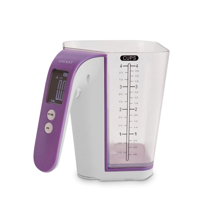 Весы кухонные GALAXY GL2805 цветной