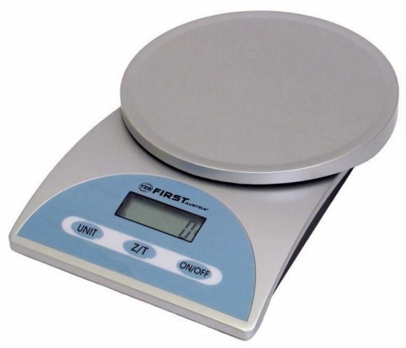 лучшая цена Весы кухонные First FA-6405 серебристый голубой