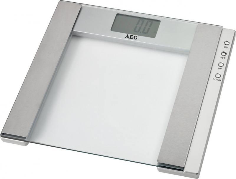 купить Весы напольные AEG PW 4923 Glas прозрачный по цене 1090 рублей