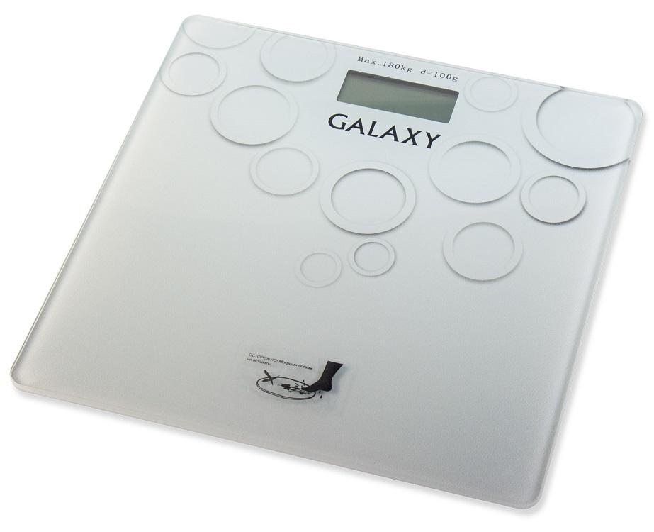 Весы напольные GALAXY GL4806 серый стоимость